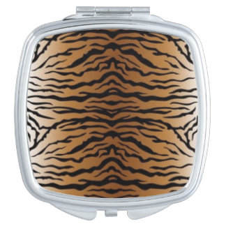 Brown Black Tiger Vanity Mirrors