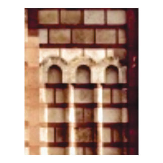 brown block window letterhead