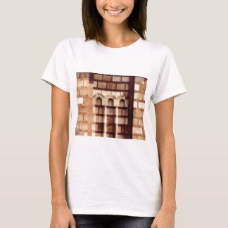 brown block window T-Shirt