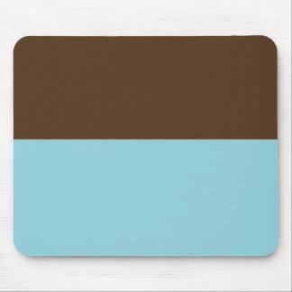 Brown & Blue Mousepad