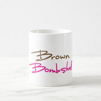 Brown Bombshell Mug