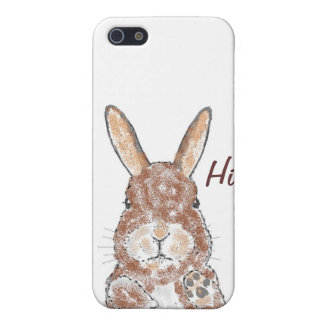 Brown Bunnie iPhone cases iPhone 5/5S Cases