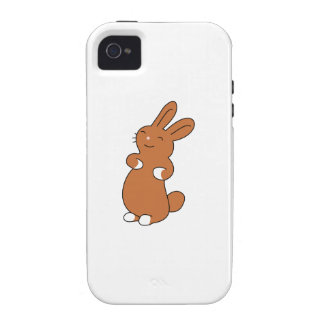 Brown Bunny Case-Mate iPhone 4 Cover