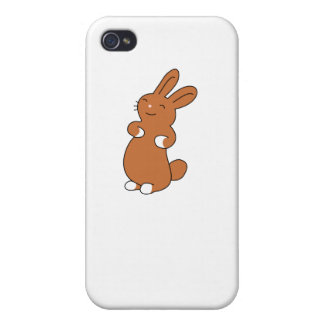 Brown Bunny iPhone 4/4S Cover