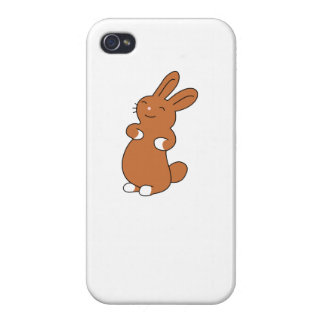 Brown Bunny iPhone 4 Cover