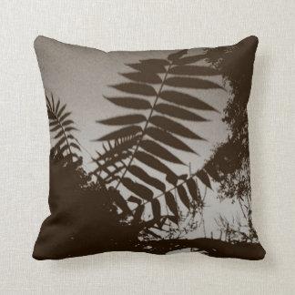 Brown Bush Throw Pillows