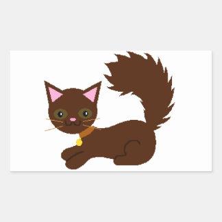 Brown Bushy Tailed Cat