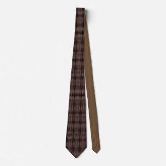 Brown Cabochon Motif Necktie