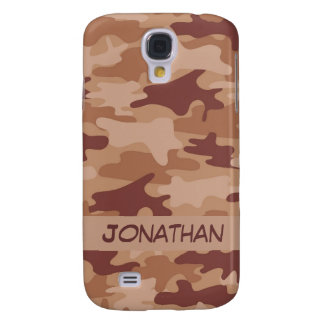 Brown Camo Camouflage Name Personalized
