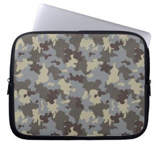 Brown camo laptop sleeve