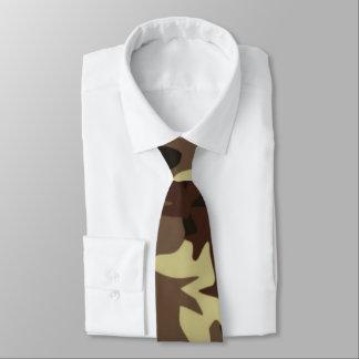 Brown Camo Tie