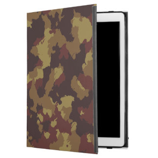 "Brown Camouflage iPad Pro 12.9"" Case"