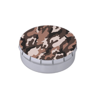 Brown camouflage | Jelly Belly Tins