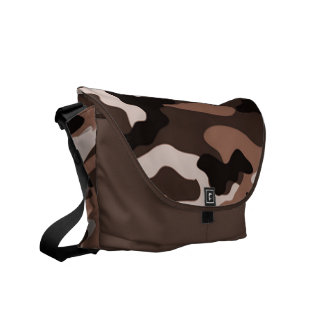 Brown camouflage | Messenger Bag