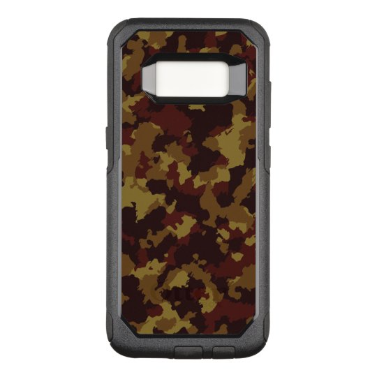 Brown Camouflage OtterBox Commuter Samsung Galaxy S8 Case