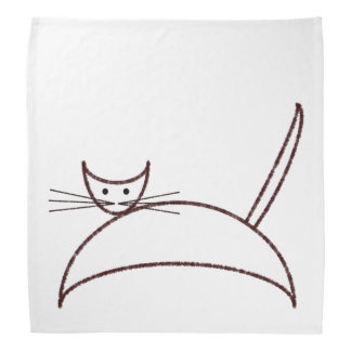 Brown cat do-rag