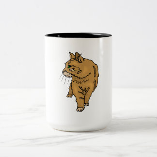 Brown Cat Mugs