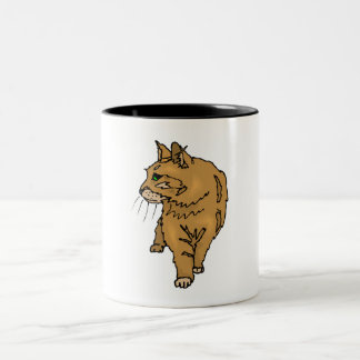 Brown Cat Coffee Mugs