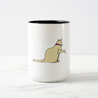 Brown Cat Coffee Mug