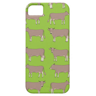 brown cattle case for the iPhone 5