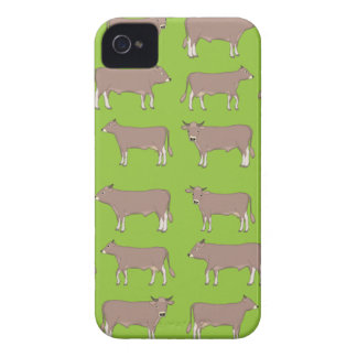 brown cattle iPhone 4 cases