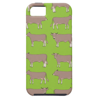 brown cattle iPhone 5 case