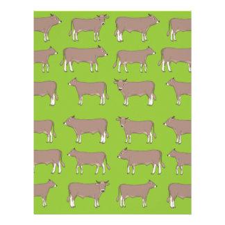 brown cattle letterhead