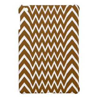 Brown Chevron Illusion iPad Mini Case
