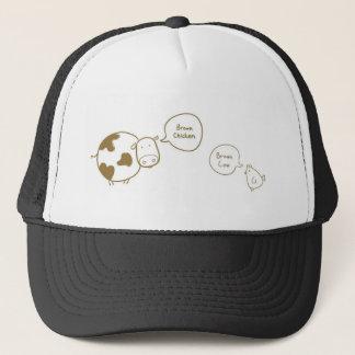Brown Chicken Brown Cow Hat