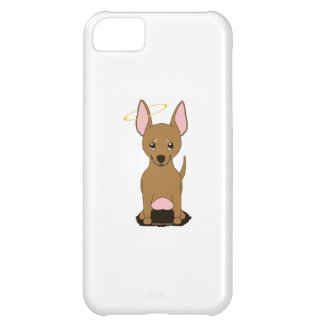 Brown Chihuahua Halo iPhone 5C Cases