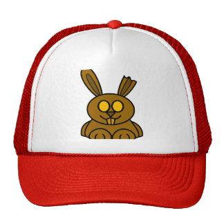Brown Chocolate Bunny Trucker Hat