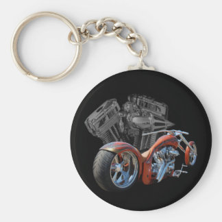 Brown Chopper Keychain