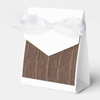 Brown Clapboard Favor Box