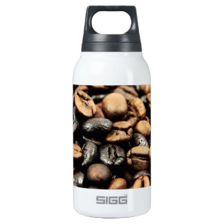 Brown Coffee Beans Photography Insulated Water Bottle