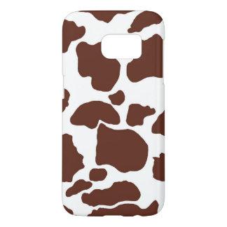 Brown Cow Skin Samsung Galaxy S7 Samsung Galaxy S7 Case