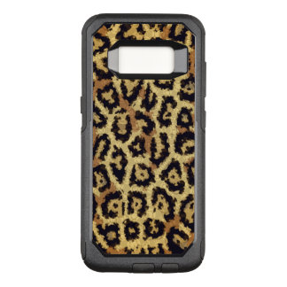 Brown Cream Cheetah Abstract OtterBox Commuter Samsung Galaxy S8 Case