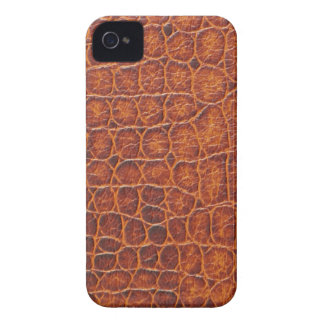 Brown Crocodile Skin Blackberry Bold Case
