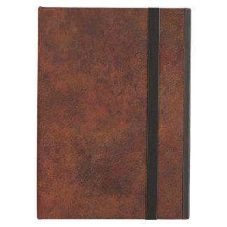 Brown Custom Grunge Leather Texture iPad Air Case