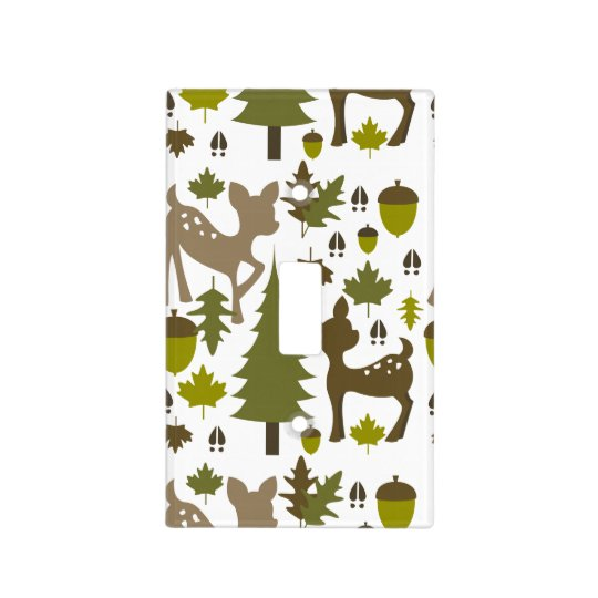 Brown Deer Light Switch Cover