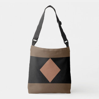 BROWN DIAMOND All-Over-Print Cross Body Bag