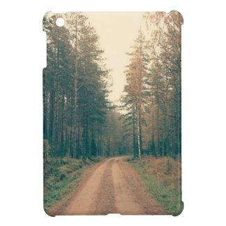 Brown Dirt Road Between Green Leaved Trees Daytime iPad Mini Case
