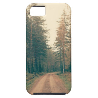 Brown Dirt Road Between Green Leaved Trees Daytime iPhone 5 Cases