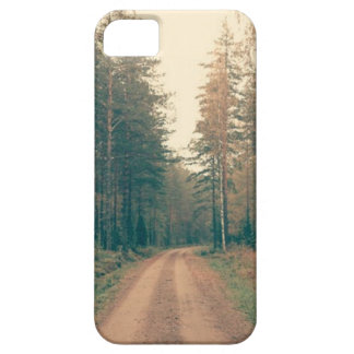 Brown Dirt Road Between Green Leaved Trees Daytime iPhone 5 Covers