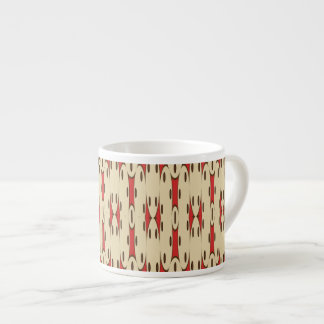 Brown dots espresso cup