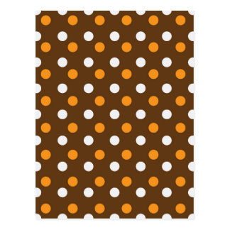 brown dotted colorful backgrounds postcard