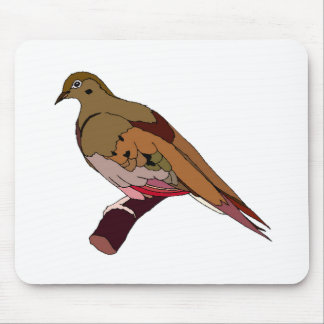 Brown Dove Mouse Pad