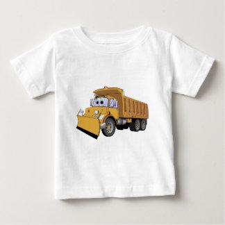 Brown Dump Truck Cartoon Baby T-Shirt