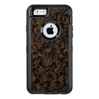 Brown Embroidery Look OtterBox iPhone 6/6s Case