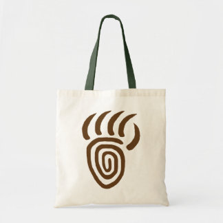 Brown Emergence Bear Paw Tote