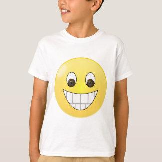 Brown eyes smile face T-Shirt
